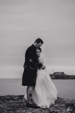 Archerfield Edinburgh wedding photography bride and groom poses