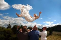 creative wedding photography in Edinburgh