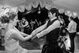 wedding dance with wedding couple