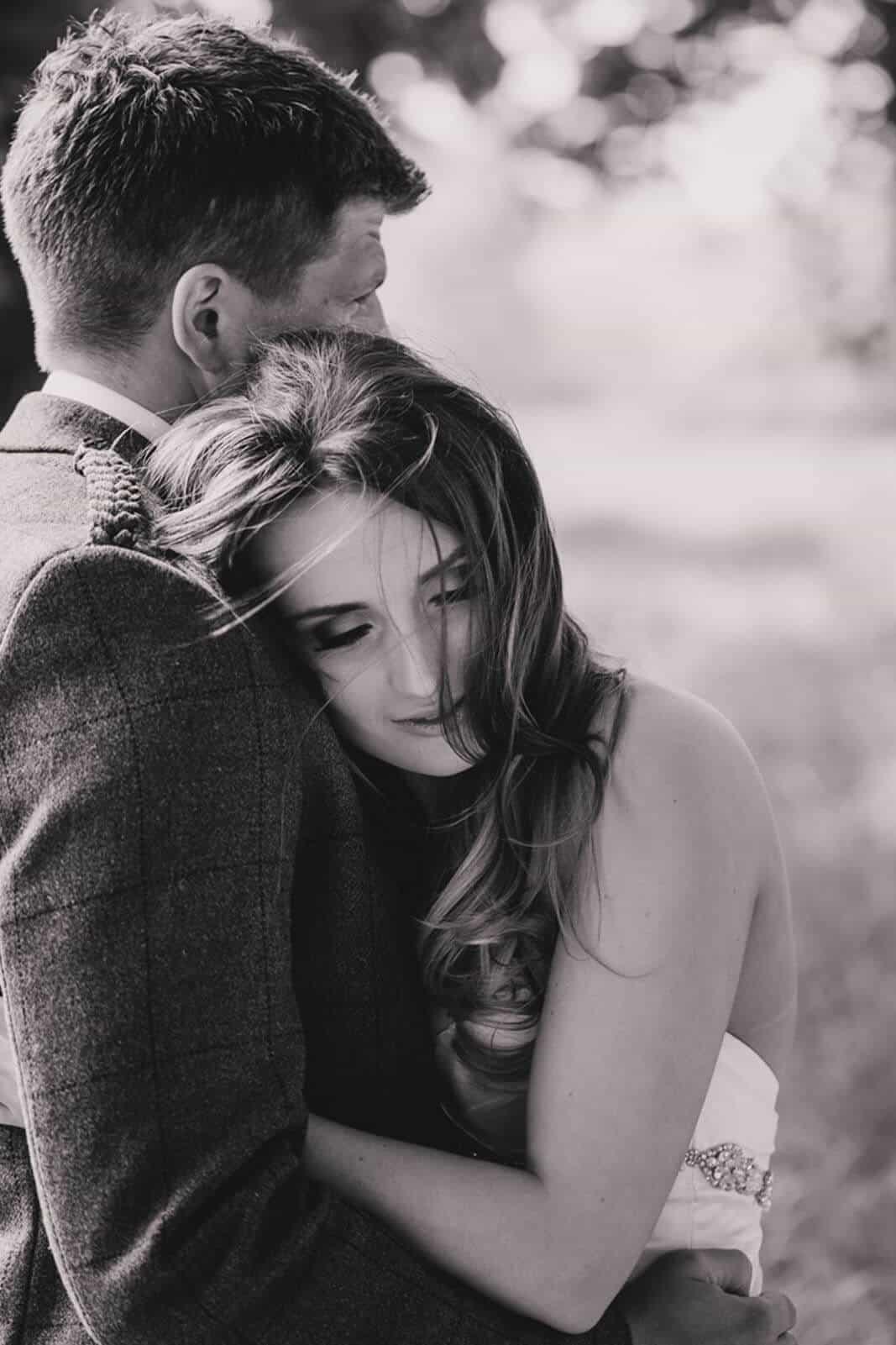 Edinburgh wedding photography bride and groom poses