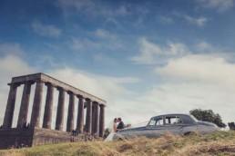 Edinburgh calton hill wedding photography