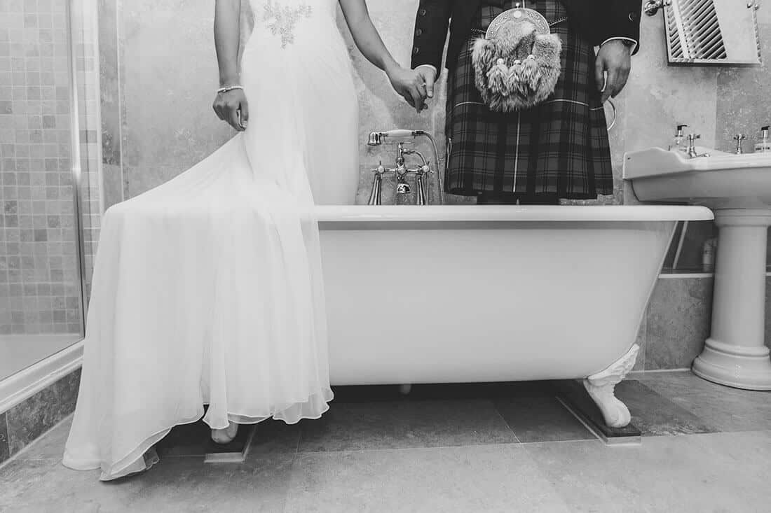 Funky wedding photography SCotland