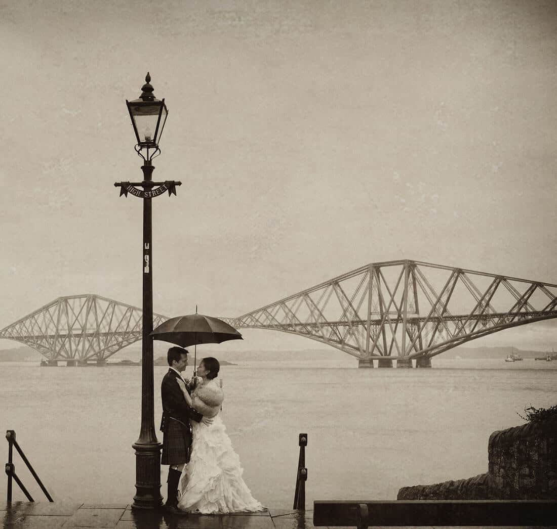 Queensferry Edinburgh wedding photography