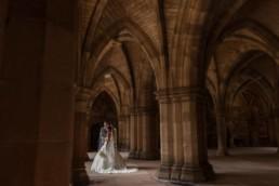 University of Glasgow Memorial Chapel wedding photography