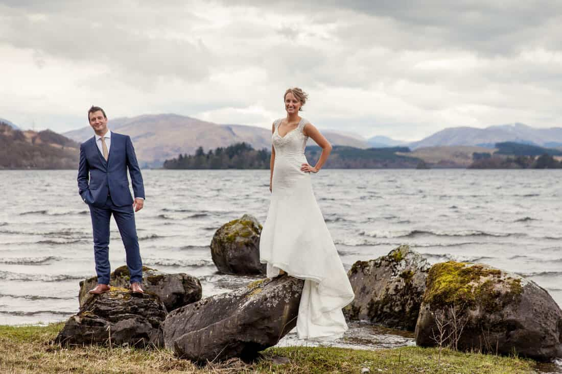 wedding photographer scotland uk