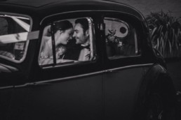 romantic wedding photos with wedding couple at Archerfield House