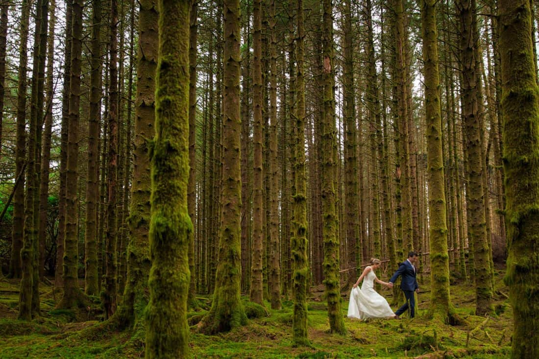 Scottish elopement photography with Edinburgh photographer