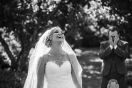 Edinburgh wedding photography bride and groom funny poses