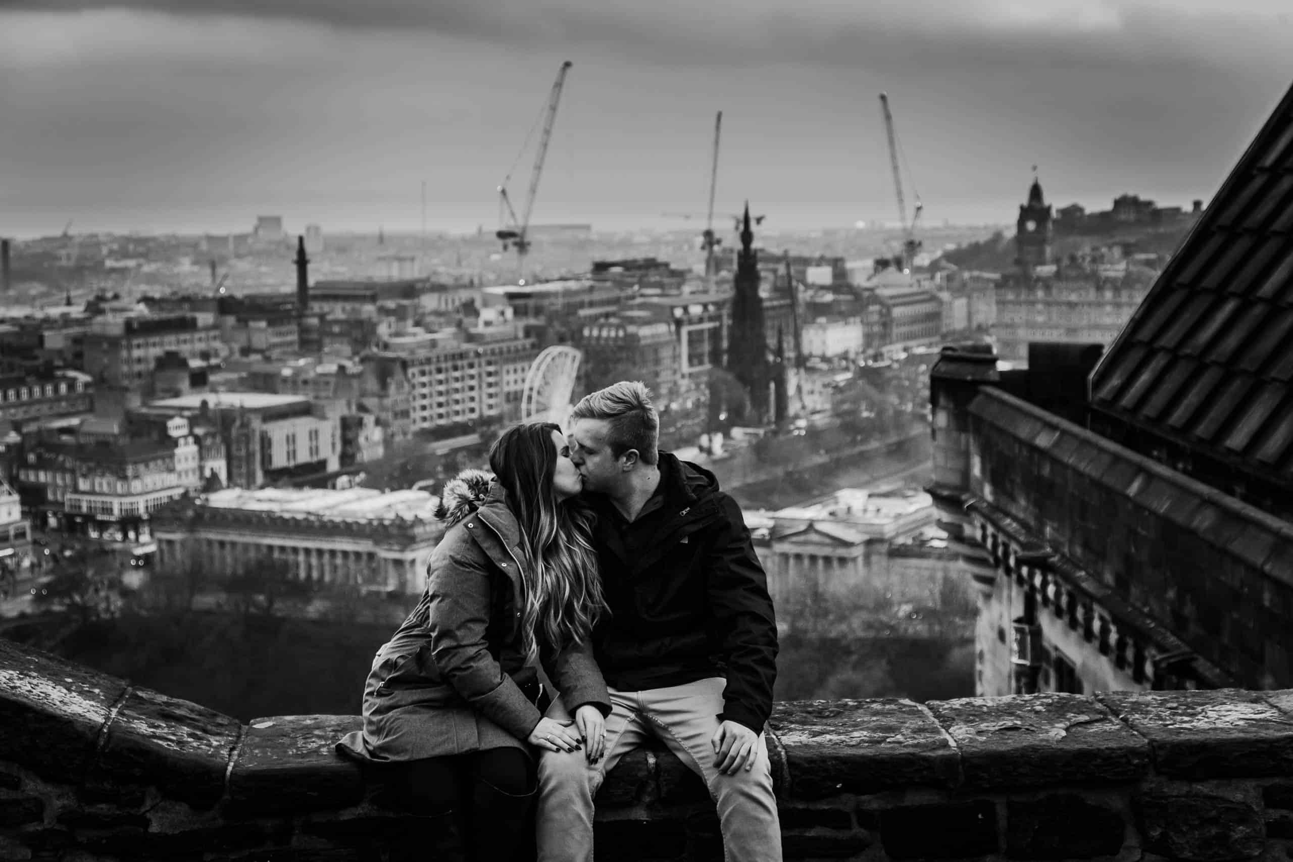 Engagement photography in Edinburgh 8