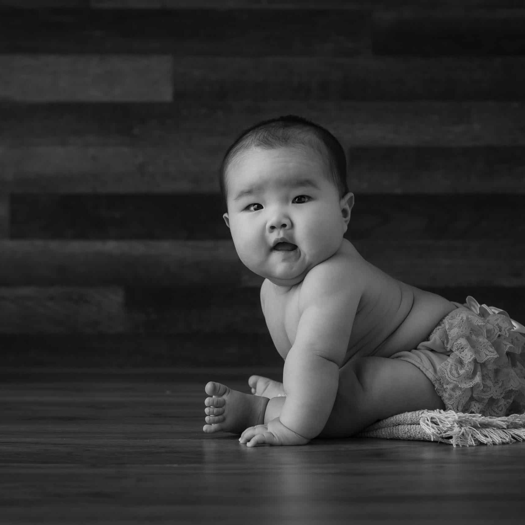 baby photoshoot edinburgh