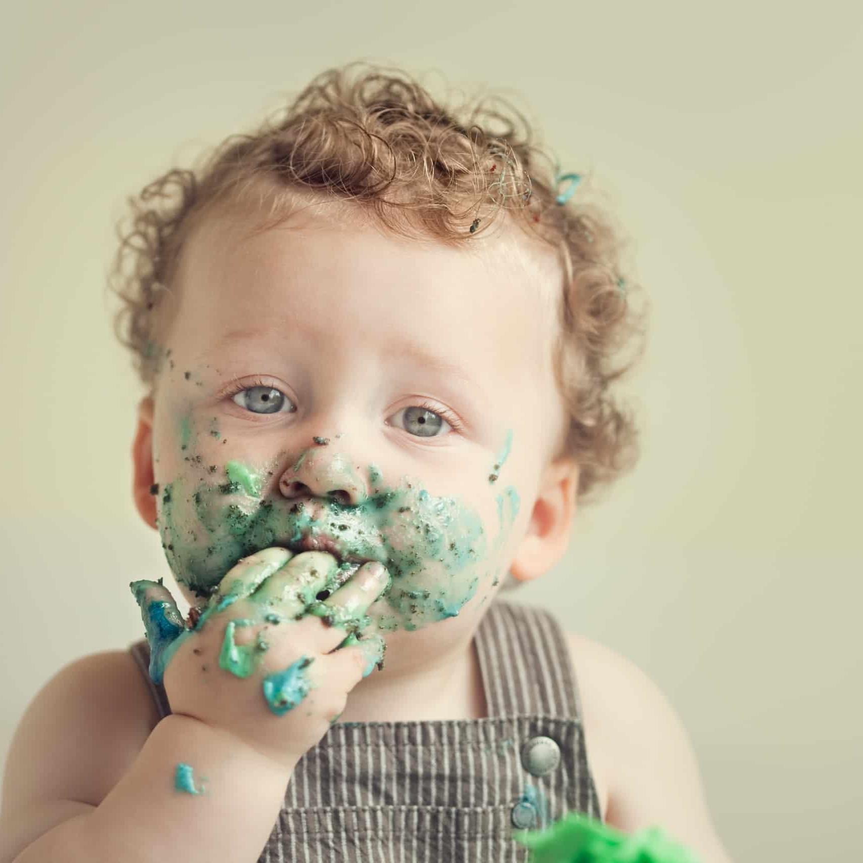 First Birthday Cake Smash Photography | Sophia-Belle 24