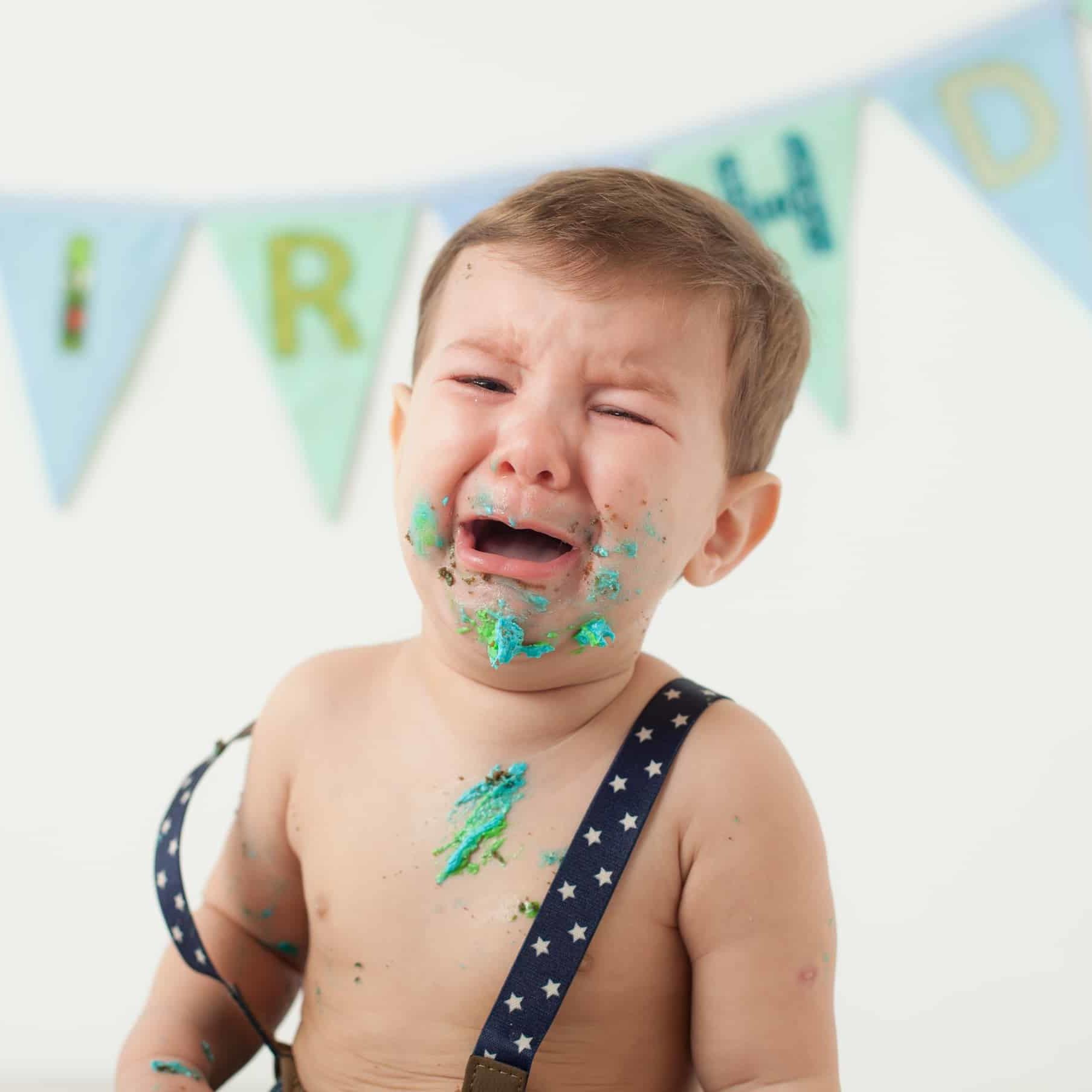 First Birthday Cake Smash Photography | Sophia-Belle 34