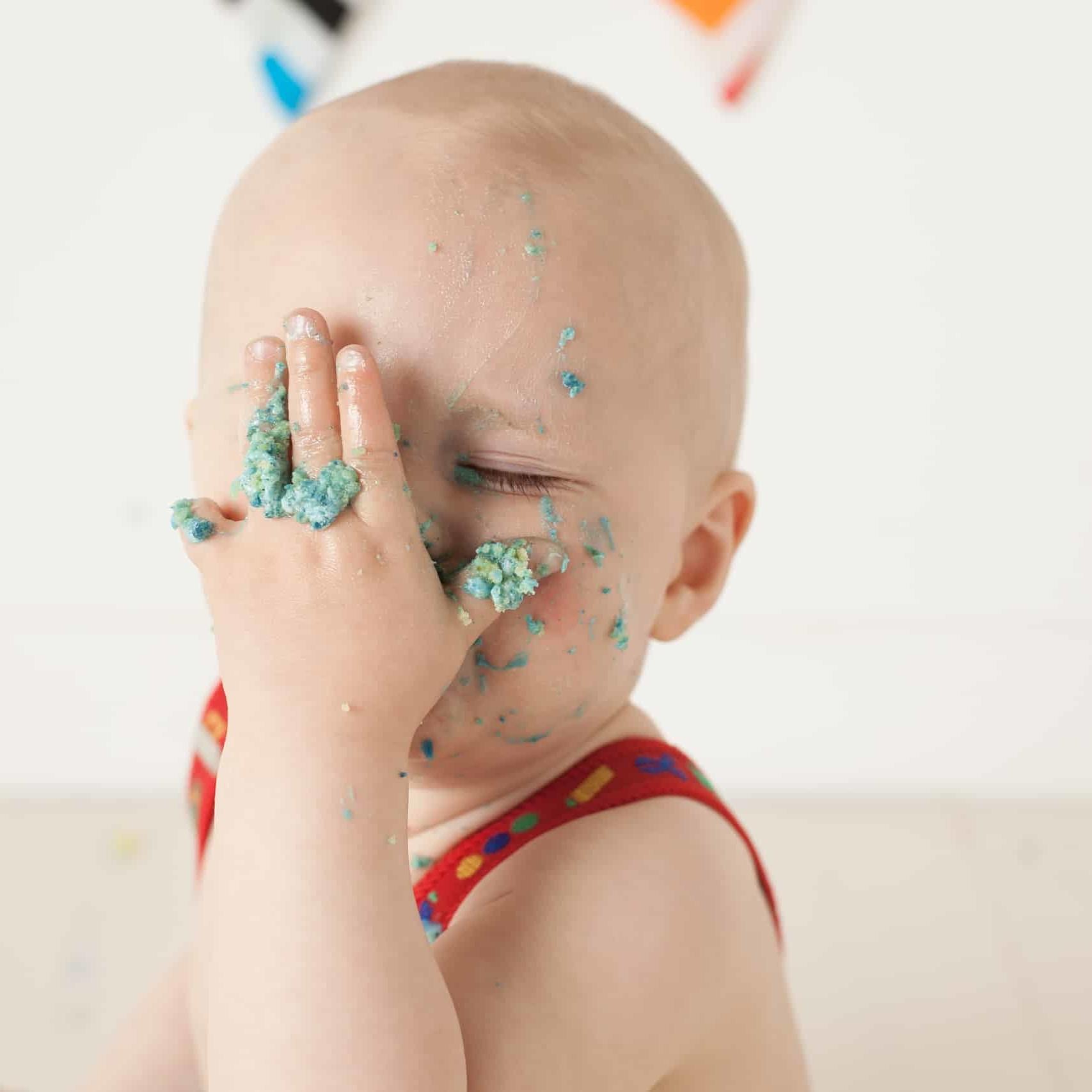 First Birthday Cake Smash Photography | Sophia-Belle 37