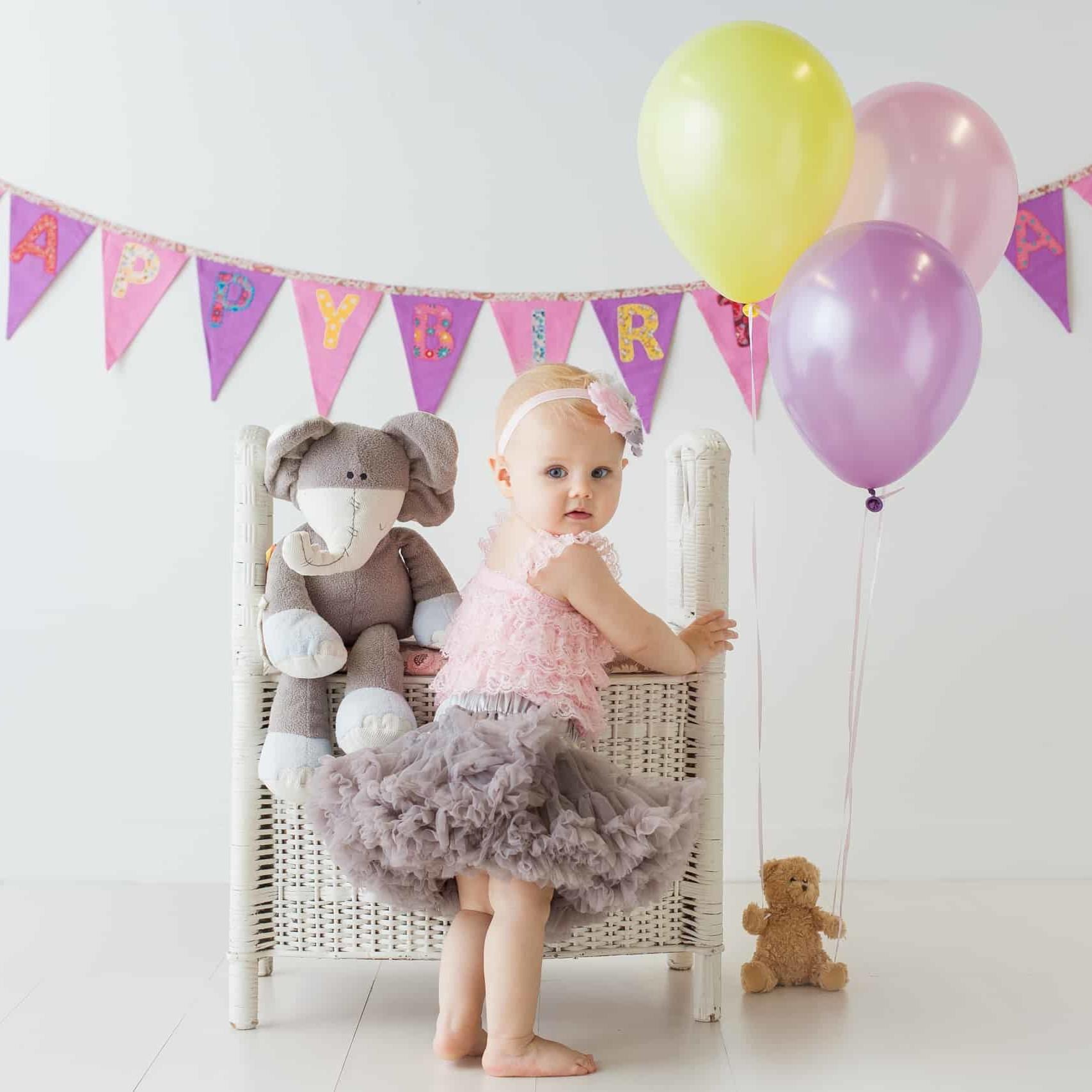 First Birthday Cake Smash Photography | Sophia-Belle 27