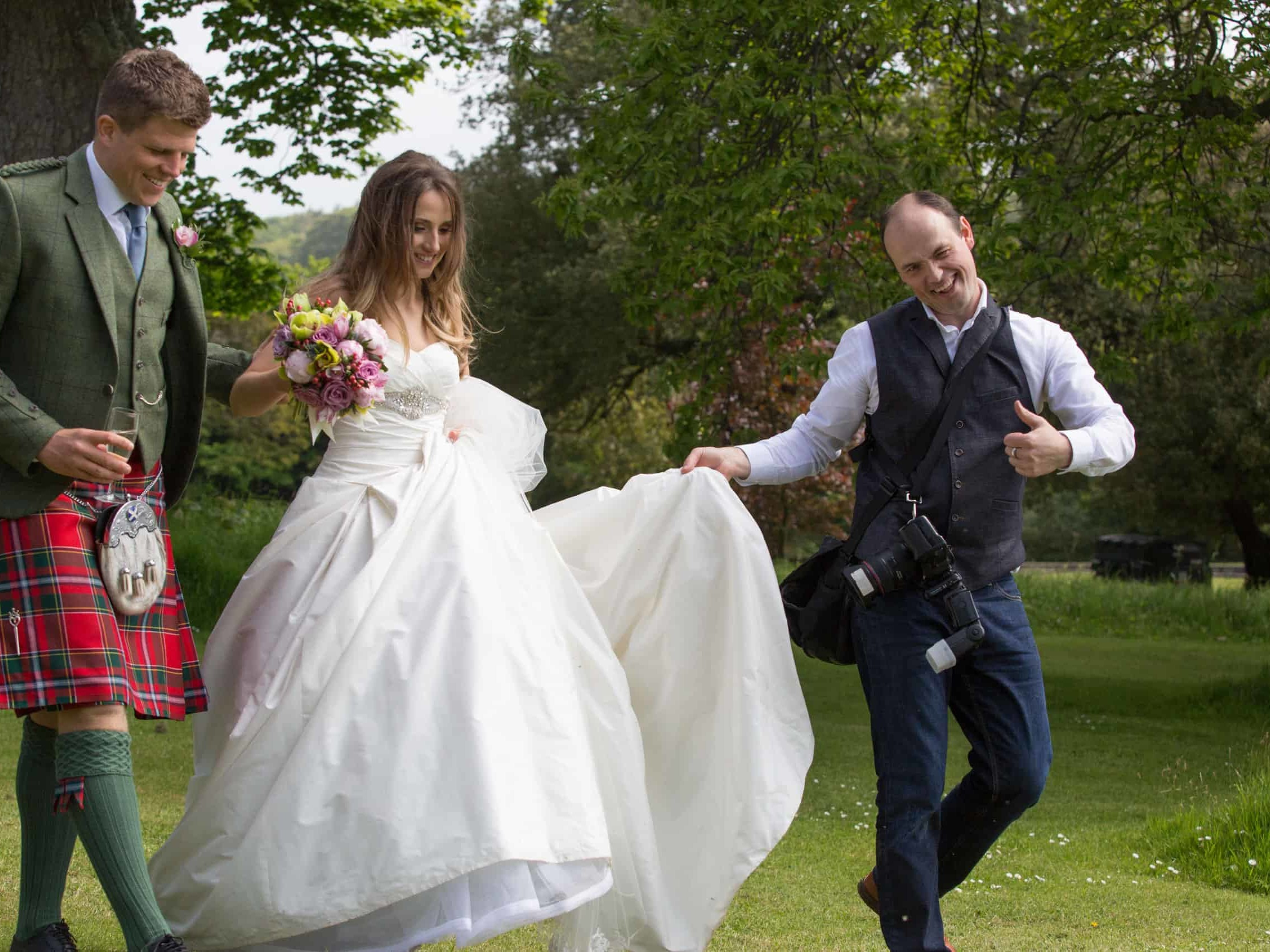 scottish wedding photographer in Edinburgh
