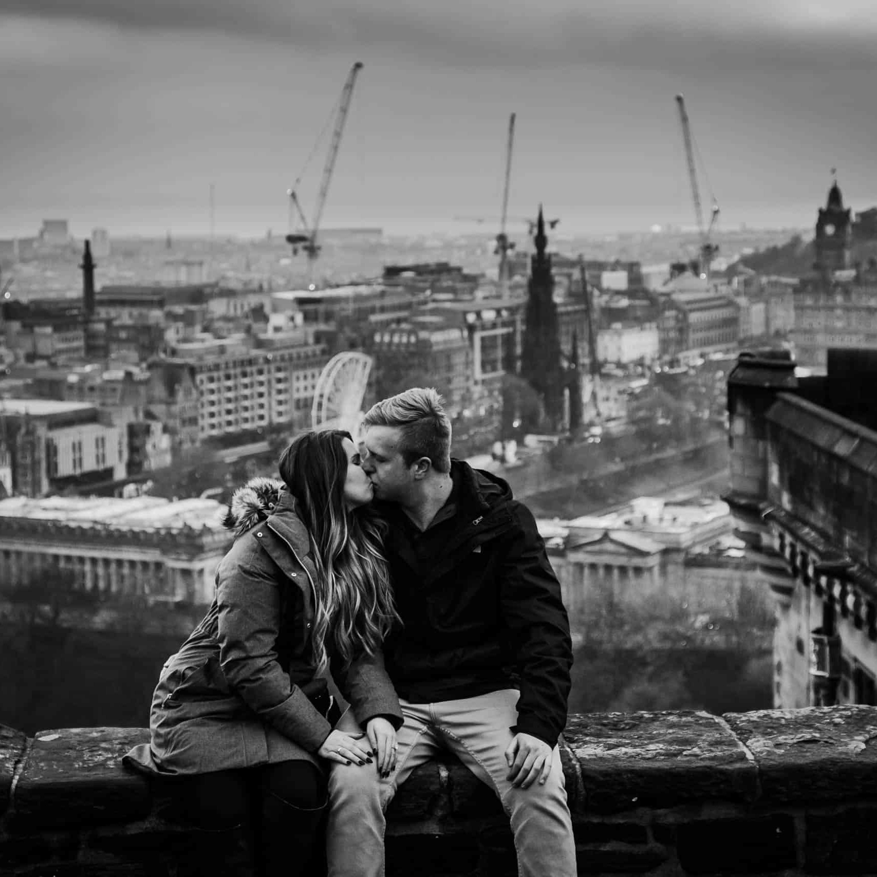 Engagement photography in Edinburgh 3