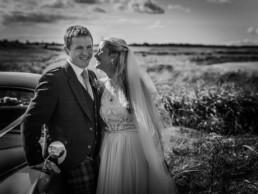 Broxmouth Park wedding photography natural poses