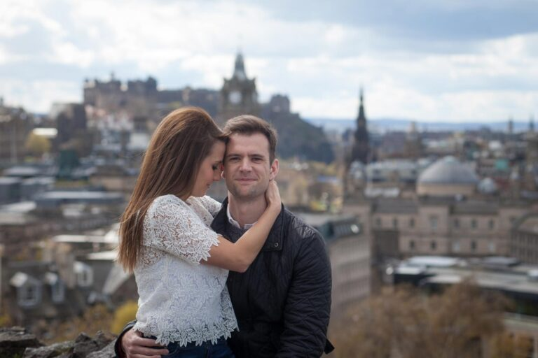 Top romantic places to propose in Edinburgh. 2