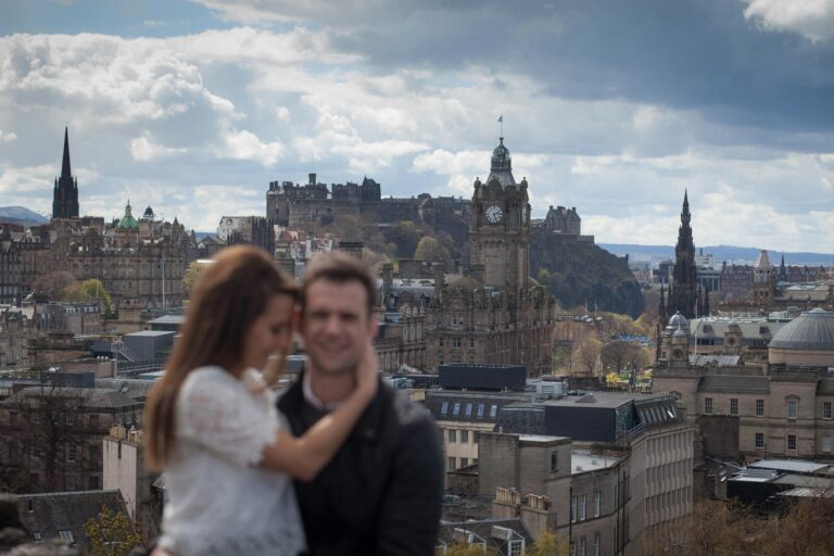 Top romantic places to propose in Edinburgh. 3