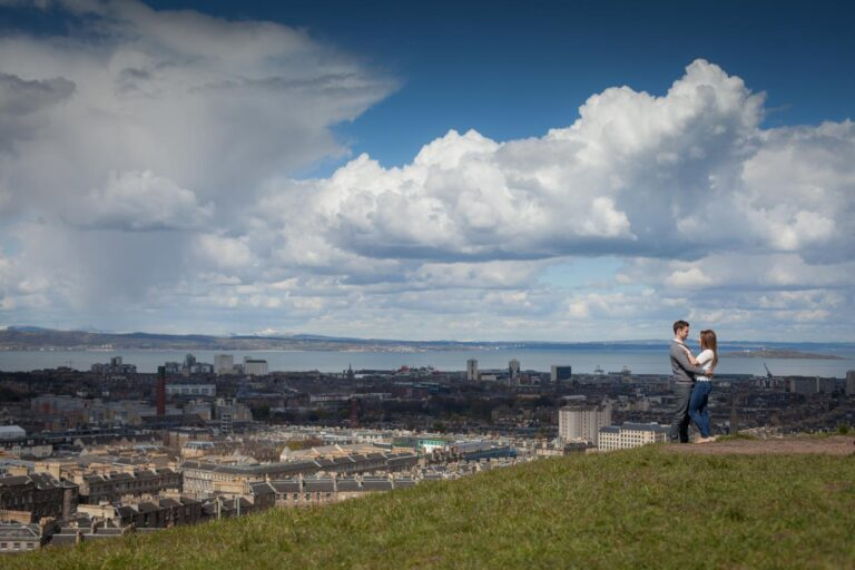 Top romantic places to propose in Edinburgh. 4