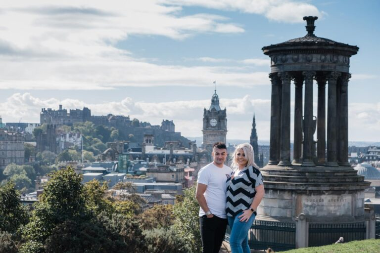 Top romantic places to propose in Edinburgh. 8
