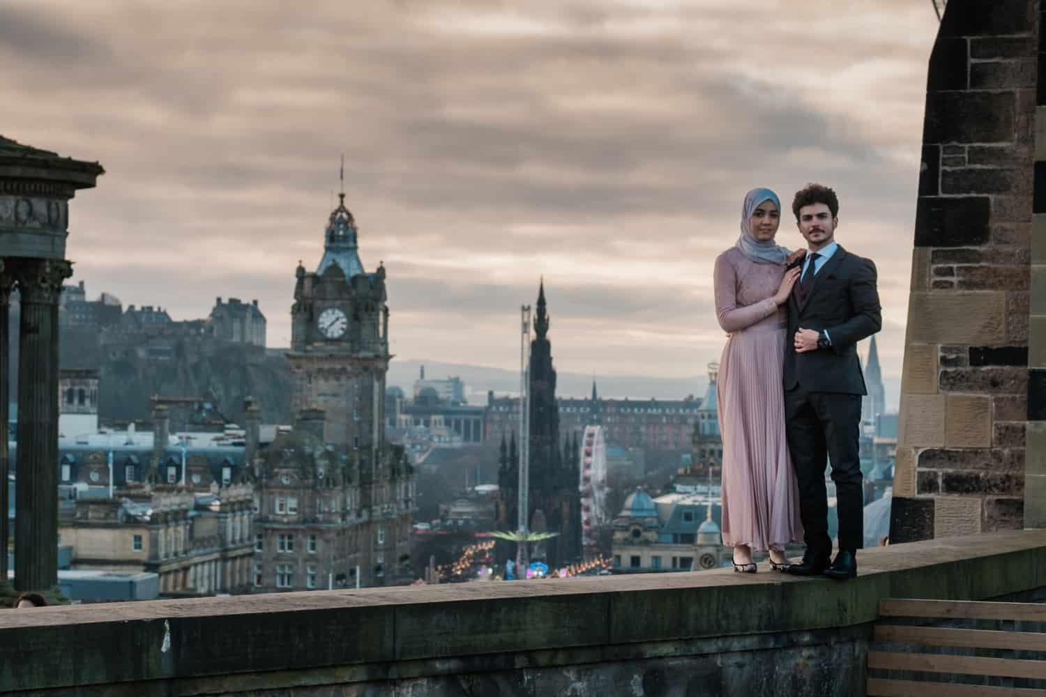 romatic places in Edinburgh to propose - calton hill