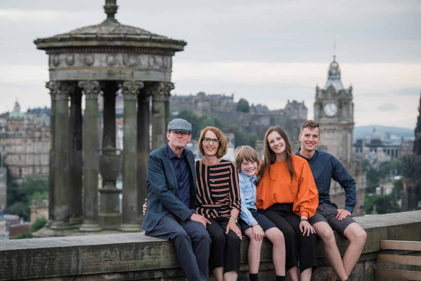 Vacation Photography in Edinburgh