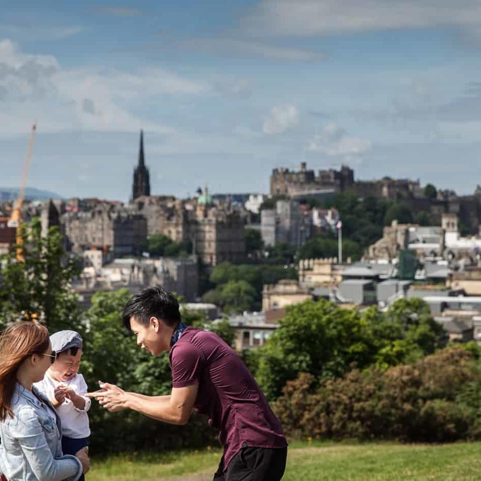 Vacation Photography in Edinburgh 6