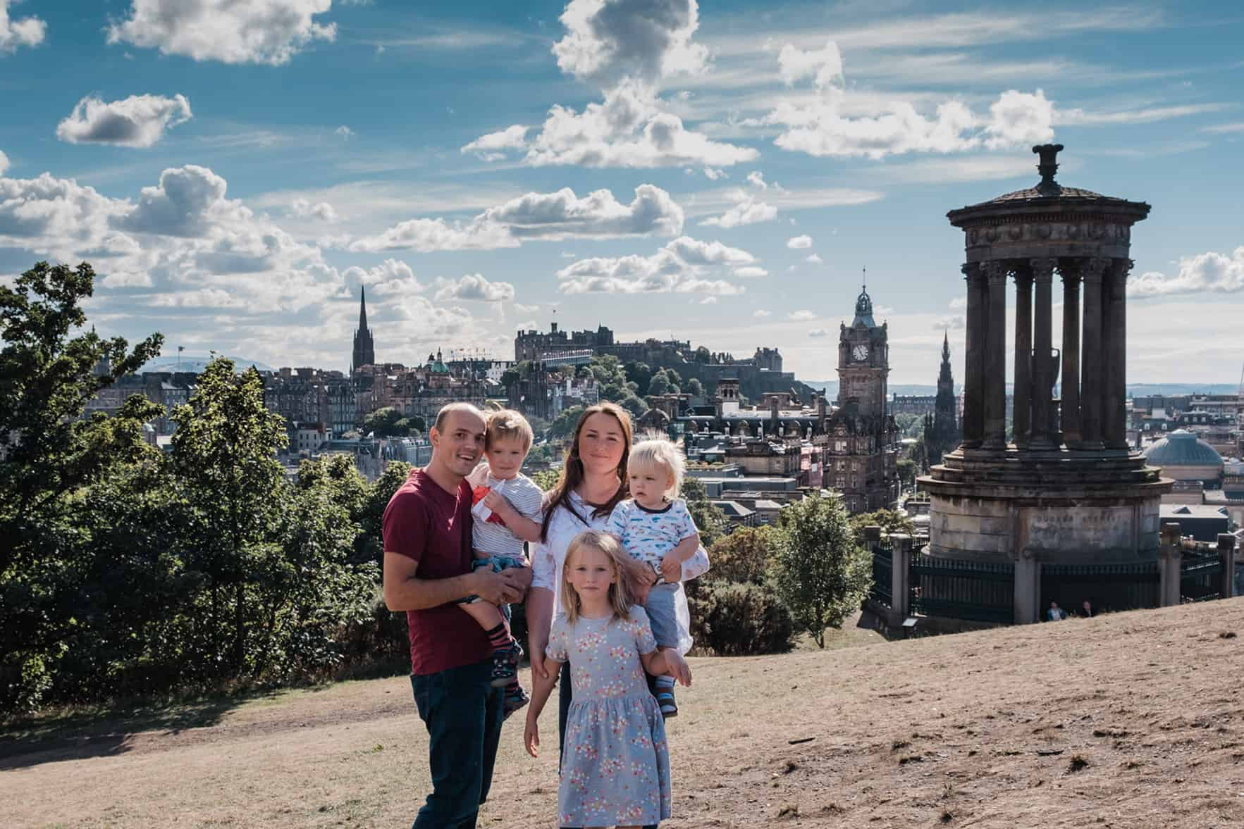Vacation Photography in Edinburgh 1