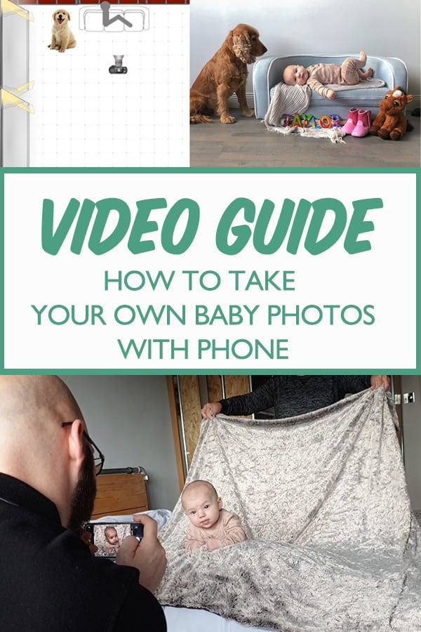 Video guide on how to take your own baby photos at home