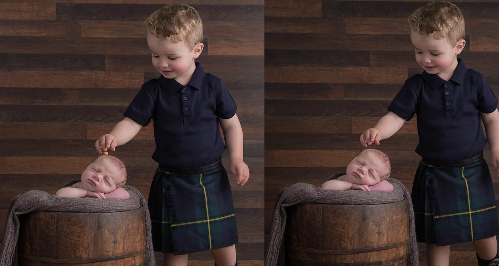 Sibling photos with newborn baby How-To Guide 11