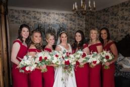wedding photography bridal party