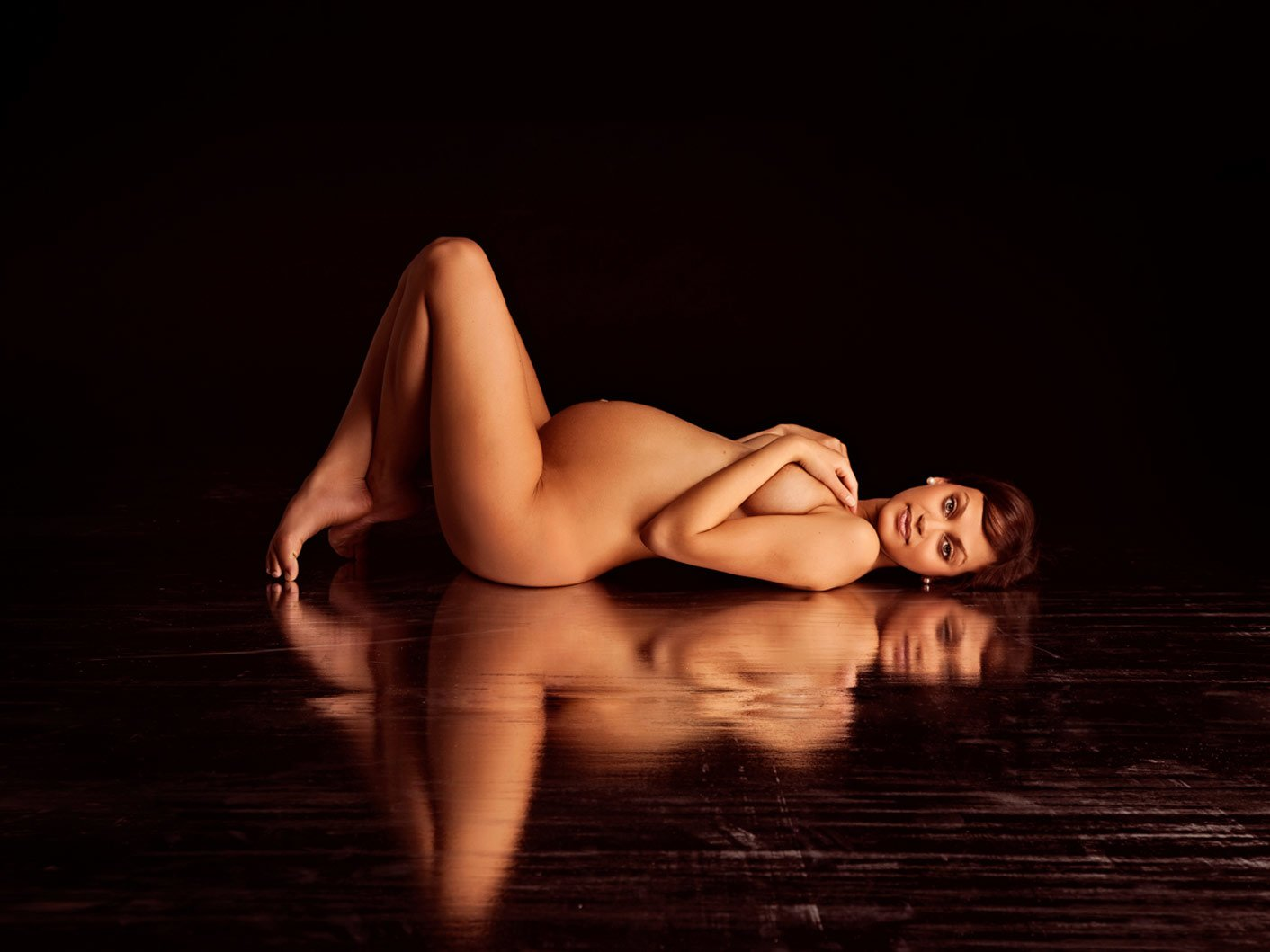Fine art and Nude artistic pregnancy photos 1