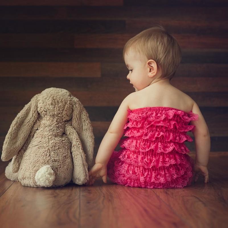 baby during baby photoshoot in Edinburgh