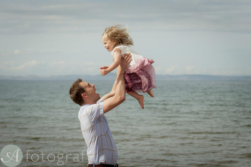 Family portraits on the beach Guide 1