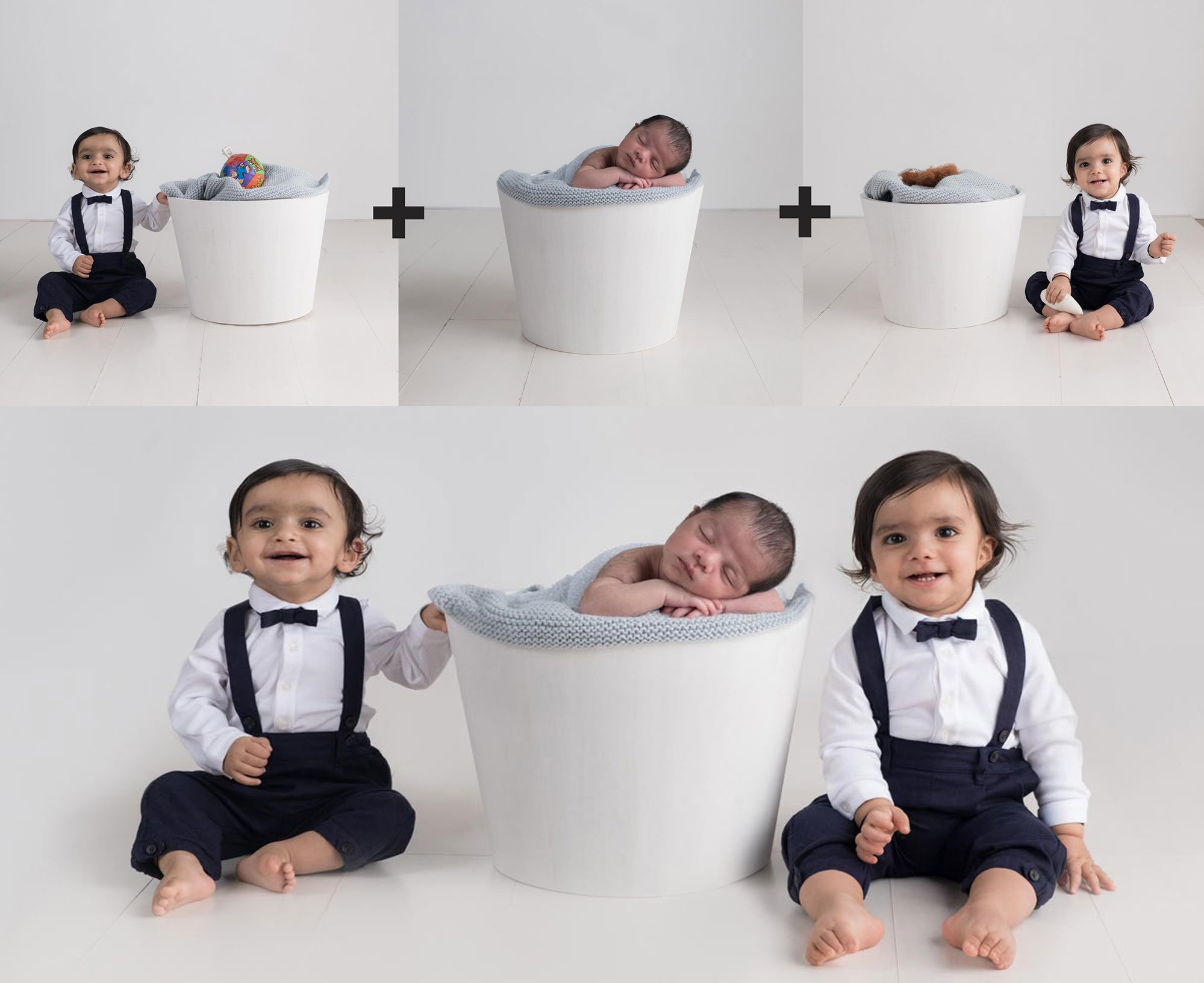 Sibling photos with newborn baby How-To Guide 9