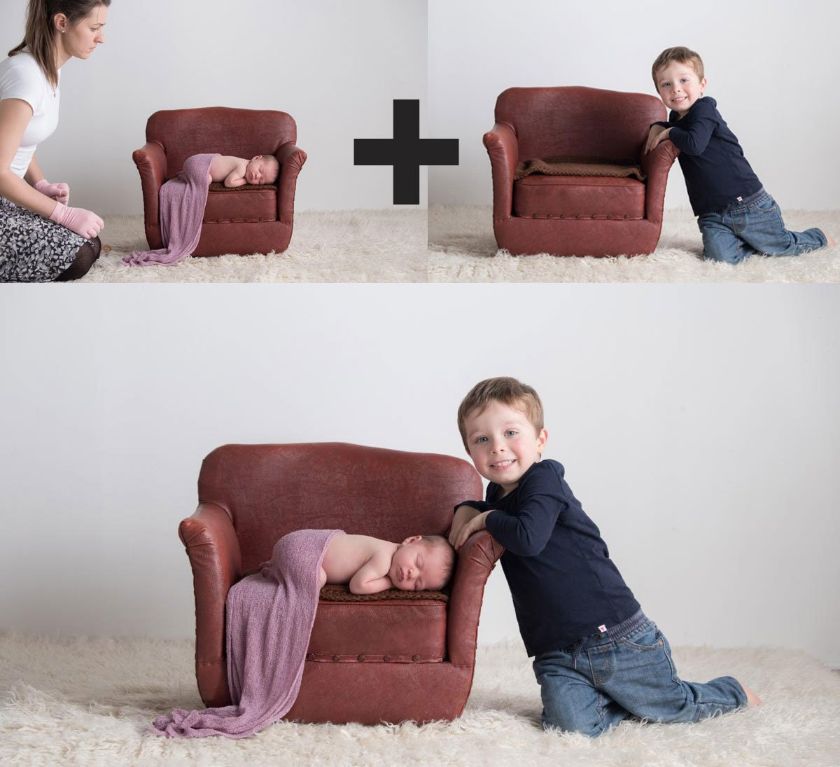 Sibling photos with newborn baby How-To Guide 19