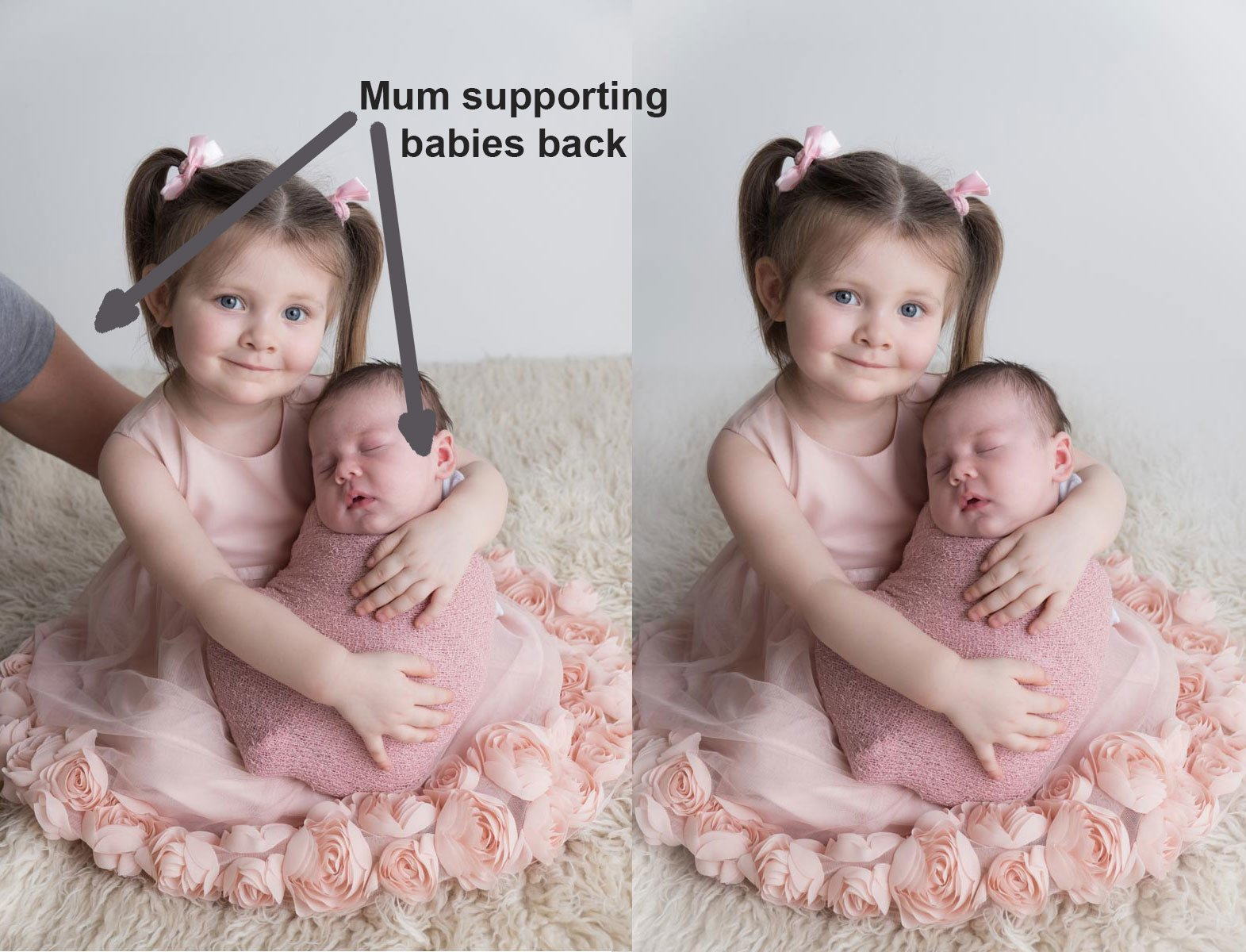 Sibling photos with newborn baby How-To Guide 27