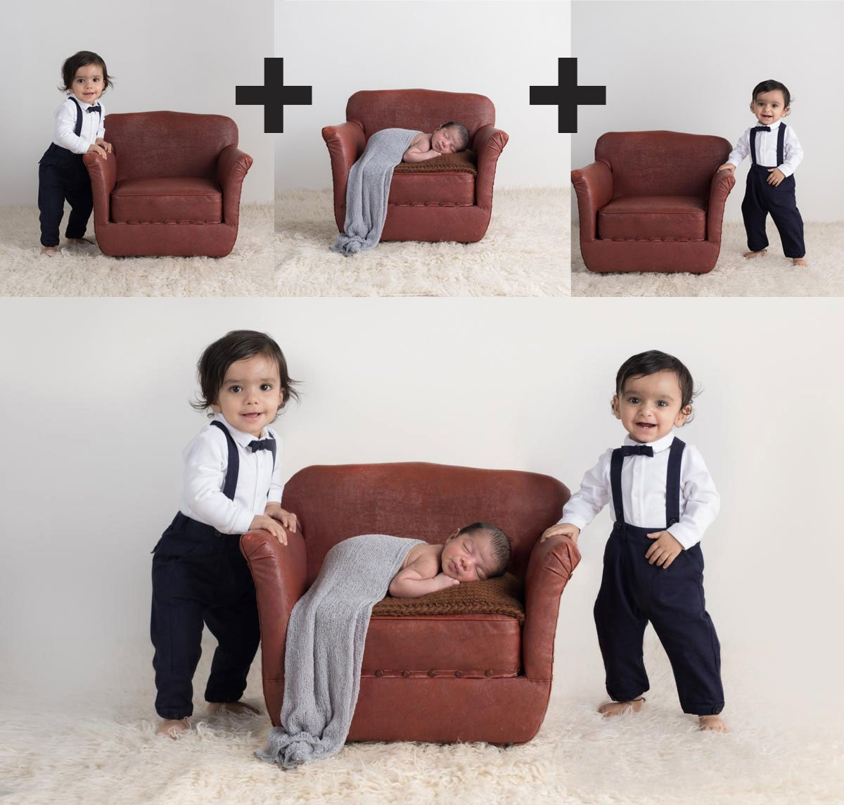Sibling photos with newborn baby How-To Guide 10