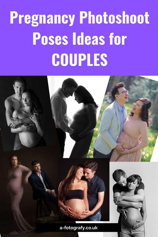 Pregnancy couples photoshoot poses ideas