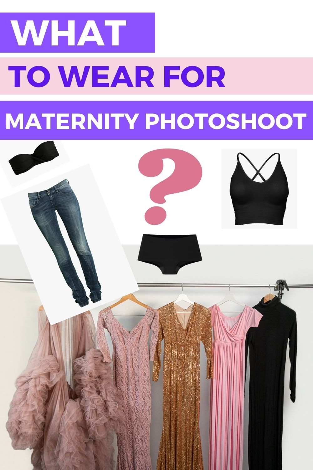 What to wear for a maternity photoshoot 1